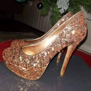 Bakers - Malina Sequin heels
